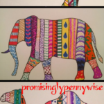 DIY Bohemian Art For Under $1