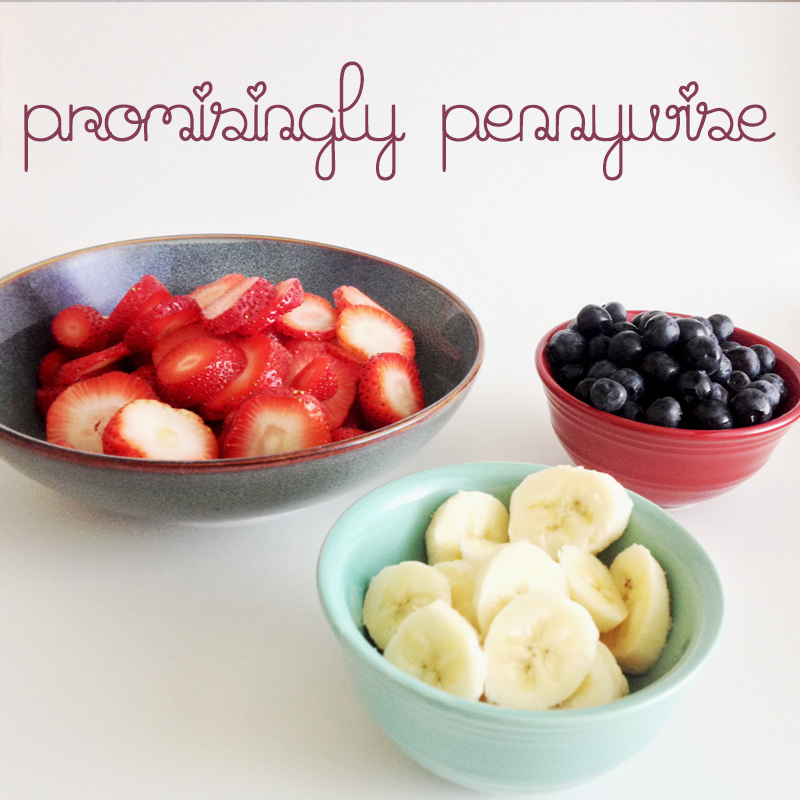 Patriotic Parfaits: Only 5 Ingredients. This light, fruit filled parfait is perfect for summer!