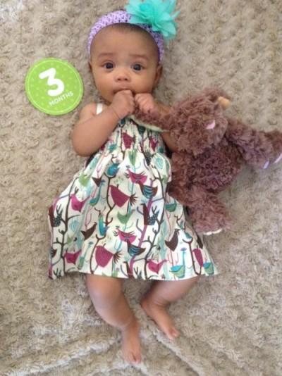 Happy 3 Months Baby G!