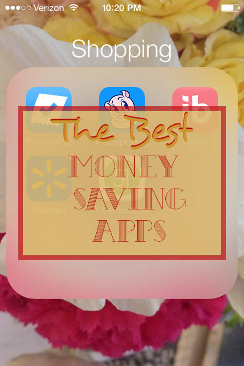 The Best Money Savings Apps. Earn money by scanning your receipts with these five easy to use money saving apps. Read more to find out about the best money saving apps.