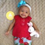 Happy 4 Months Baby G!
