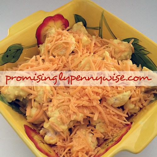 Pin Test Review of a Cheesy Cauliflower Pinterest Recipe