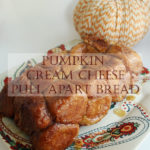 Pumpkin Cream Cheese Pull-Apart Bread