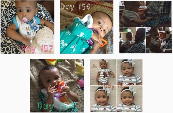Happy 6 Months Baby G!