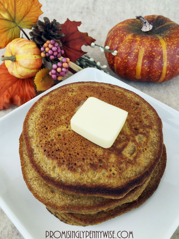 The Perfect Pumpkin Pancakes (Gluten Free!) Your friends and family won't believe these light and fluffy pumpkin pancakes are gluten free!
