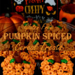 Gluten Free Pumpkin Spiced Cereal Treats