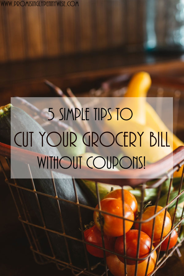 5 Simple Tips To Cut Your Grocery Bill Without Coupons My