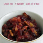 Pecan Pineapple Cranberry Sauce