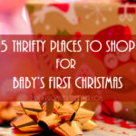 5 Thrifty Places to Shop for Baby's First Christmas