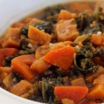 Instant Pot Sweet Potato and Kale Stew