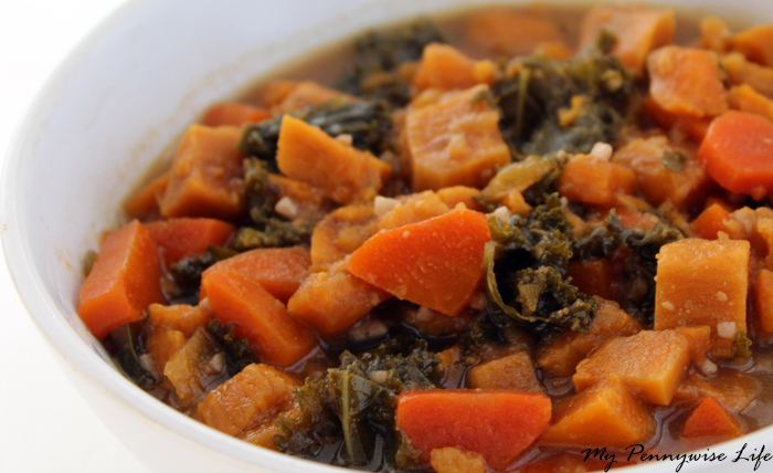 Instant Pot Sweet Potato & Kale Stew: Gluten-Free, Vegetarian, Whole Food: This healthy recipe is bursting with flavor.