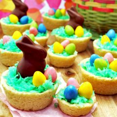 Easter Basket Cookie Cups (Gluten-Free!)